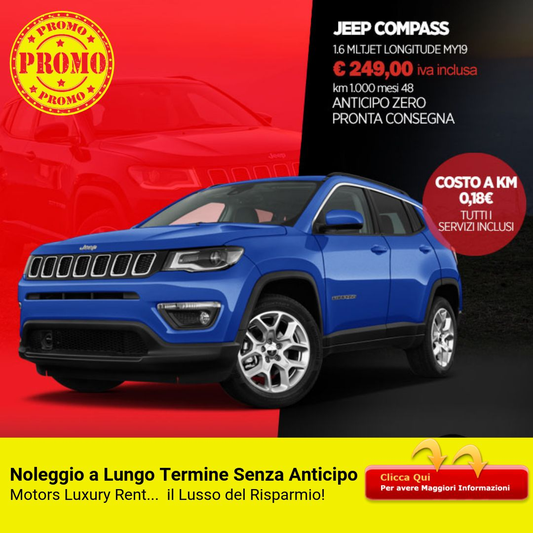 JEEP Compass 1.6 Multijet Longitude MY19