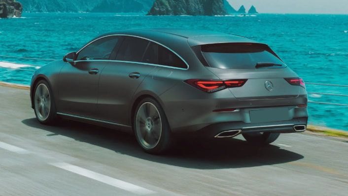 Nuova Mercedes CLA Shooting Brake 2019